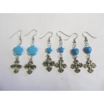 Earrings Cross